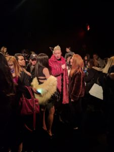 NYFW Michael Costello - Irene Simbolon - 5th & Batavia - Shaun Ross