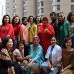 United Nations Delegations Women's Club - Afternoon Tea - Fashion Show - Irene Simbolon - 5th & Batavia